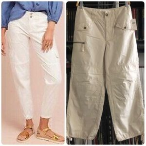 Anthropologie Utility Cropped Pants